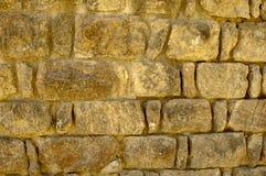Le vieux mur en pierre apprête des milieux de texture, la texture 9 Images libres de droits