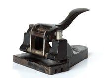 Le vieux papier de perforateur Image libre de droits