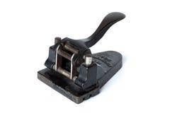 Le vieux papier de perforateur Photographie stock
