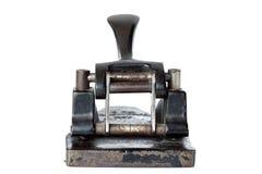 Le vieux papier de perforateur Photos stock