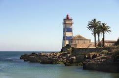 Le vieux phare Image libre de droits