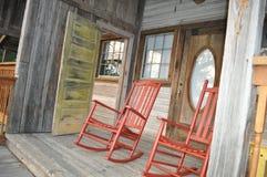 Le vieux porche avant Photos stock