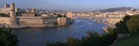 Le Vieux Port de Marsella, Francia Foto de archivo libre de regalías