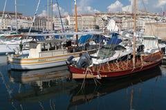 Le vieux Port in Marseilles Stock Photo