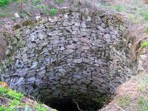 Le vieux puits image stock