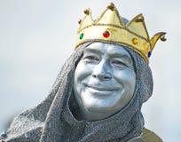 Le vieux Roi Coal ? image libre de droits