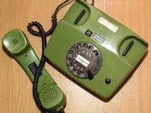 Le vieux téléphone Photographie stock