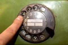 Le vieux téléphone Image libre de droits