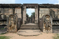 Le vieux temple Photographie stock