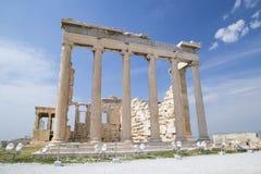 Le vieux temple d'Athéna à Athènes image stock