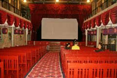 Le vieux théâtre dans la ville antique de jiufeng dans Taiwan Images stock