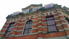 Le vieux théâtre rouge de Chambre à la région de Ximending à Taïpeh, Taïwan Bâtiment historique et rétro à Taïwan Image stock