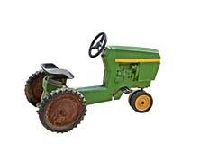 Le vieux tracteur de l'enfant Photos stock