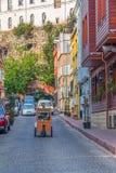 Le vieux trafic de rue d'Istanbul Photos libres de droits
