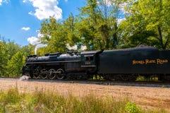Le vieux train de machine à vapeur Image libre de droits