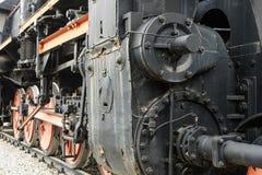 Le vieux train de machine à vapeur Images stock