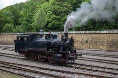 Le vieux train de machine à vapeur Images libres de droits
