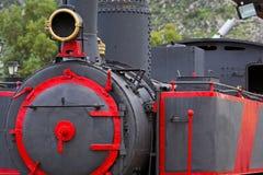 Le vieux train de machine à vapeur Photographie stock libre de droits