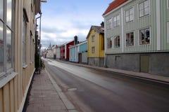 Le vieux Västervik Image stock