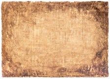 Le vieux vintage de papier a vieilli ou texture sur le fond blanc Photos libres de droits
