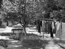 Le vieux yard photographie stock libre de droits