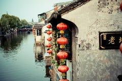 Le village antique de la Chine Photographie stock libre de droits