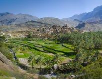 Le village Bilad Sayt, Oman Photo stock