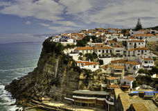 Le village d'Azenhas endommagent le Portugal Photographie stock