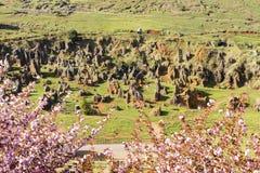 Le village de Cabarceno Photos stock