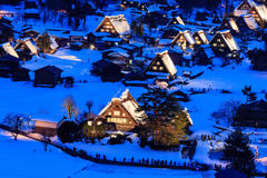 Le village de fantaisie au Japon Image stock