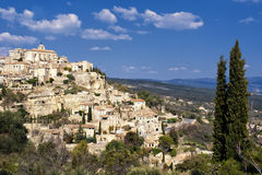 Le village de Gordes Photographie stock libre de droits