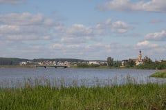 Le village de Kurganovo Images libres de droits
