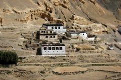 Le village de l'Himalaya Image stock