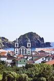 Le village de Lages font Pico, Açores Images libres de droits