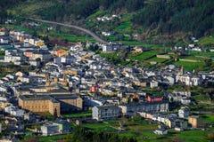 Le village de Mondonedo Photographie stock libre de droits