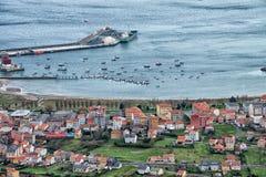 Le village de pêche de Carino Photographie stock libre de droits