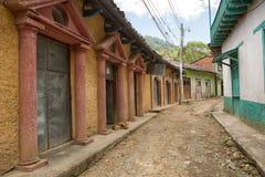 Le village de San Jacinto Honduras Images libres de droits