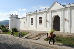 Le village des ruinas de Copan Image stock