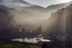 Le village du Guizhou Photos libres de droits
