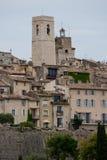 Le village du saint Paul de Vence Images libres de droits