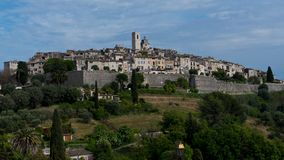 Le village du saint Paul de Vence Photo libre de droits