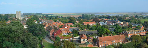 Le village du Suffolk d'Orford Image stock