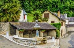 Le village français de Borce Image libre de droits