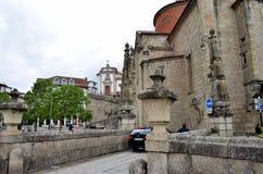 Le village historique d'Amarante au Portugal Photos stock