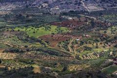 Le village vert images stock