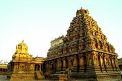 Le Vimanas renversant du Chola Photo stock
