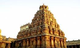 Le Vimanas renversant du Chola Photos stock