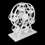 Le vintage de jouet de grande roue font à partir de l'imprimante 3D Images stock