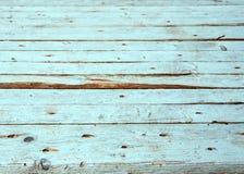 Le vintage a survécu à la texture en bois peinte par blanc minable comme fond Photographie stock