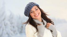 le vinter för flicka lager videofilmer